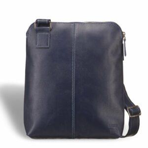 Вместительная синяя мужская сумка через плечо BRL-7561 227708