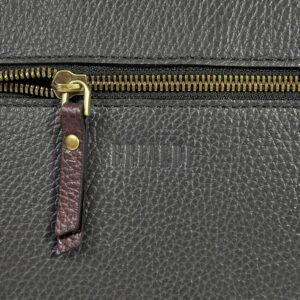 Вместительная серая женская сумка через плечо BRL-47453