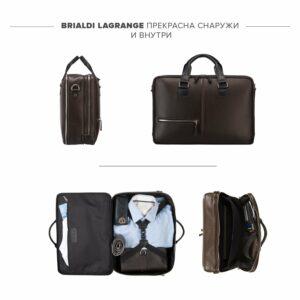 Функциональная коричневая дорожная сумка портфель BRL-23117 228377