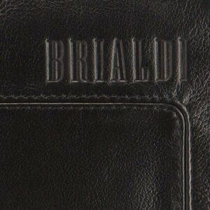 Кожаный черный мужской портмоне клатч BRL-1516 227582