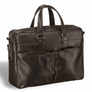 Деловая коричневая дорожная сумка портфель BRL-3288