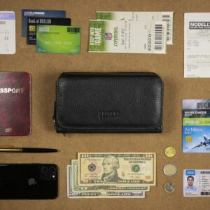 Стильный черный мужской портмоне клатч BRL-44372 229196