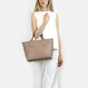 Деловая бежевая женская сумка через плечо BRL-47269 229717