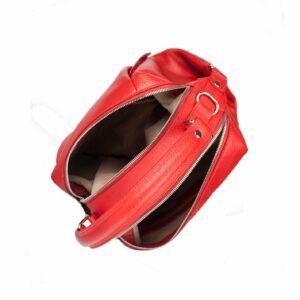 Кожаная красная женская сумка FBR-2474 229405