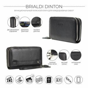 Модный черный мужской портмоне клатч BRL-43903 229077