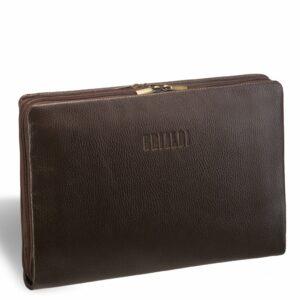 Уникальная коричневая мужская папка BRL-12054
