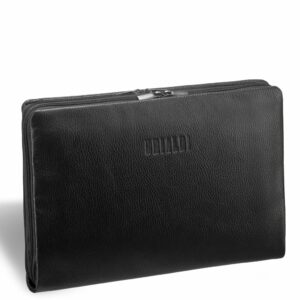 Уникальная черная мужская папка BRL-12053