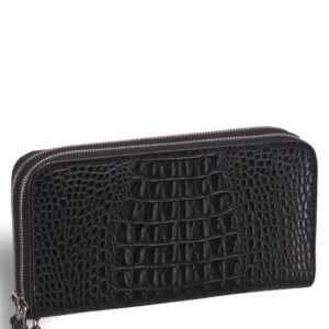 Уникальный черный мужской портмоне клатч BRL-19830 228090
