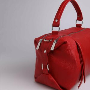 Кожаная красная женская сумка FBR-2474 229407
