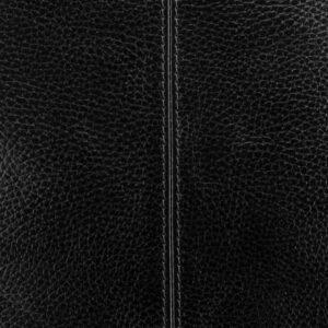 Солидная черная мужская сумка через плечо BRL-12058 227865