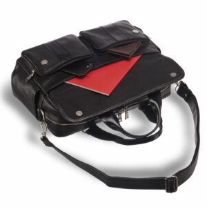 Деловой черный мужской портфель деловой BRL-15165 227976