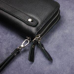 Модный черный мужской портмоне клатч BRL-43903 229100