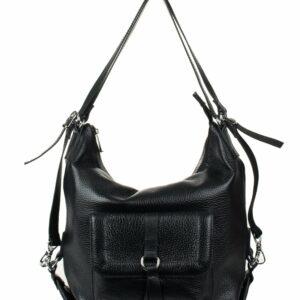 Вместительная черная женская сумка FBR-969