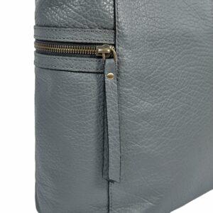 Функциональная серая женская сумка через плечо BRL-47452 229817