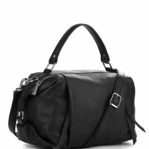 Вместительная черная женская сумка FBR-1779 229360