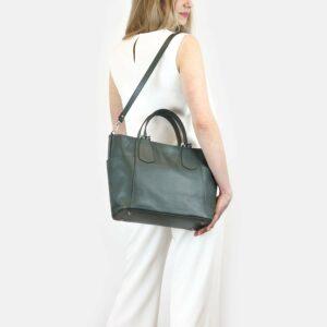 Кожаная женская сумка через плечо BRL-47278 229742