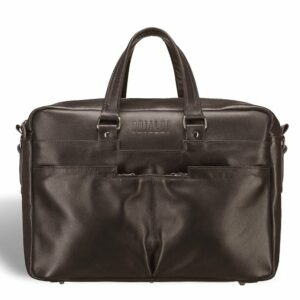 Деловая коричневая дорожная сумка портфель BRL-3288 227614