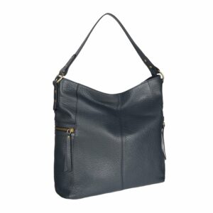 Удобная синяя женская сумка через плечо BRL-47454