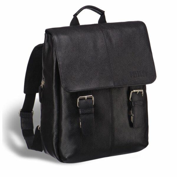 Функциональный черный мужской городской рюкзак BRL-17455