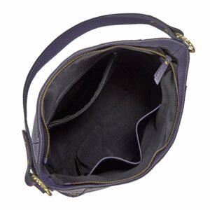 Вместительная фиолетовая женская сумка через плечо BRL-47455 229855