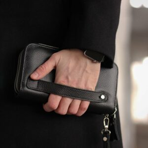 Модный черный мужской портмоне клатч BRL-43903 229087