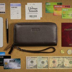 Стильный коричневый мужской портмоне клатч BRL-43904 229124