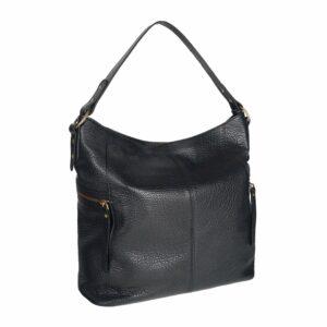 Стильная черная женская сумка через плечо BRL-47456