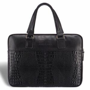 Солидная черная женская деловая сумка BRL-17810 228080