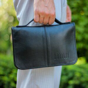 Удобный черный мужской портмоне клатч BRL-920 227515