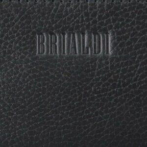 Кожаный черный мужской портфель деловой BRL-44548 227292