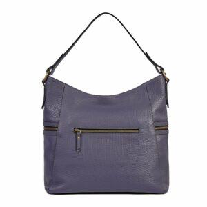 Вместительная фиолетовая женская сумка через плечо BRL-47455 229853