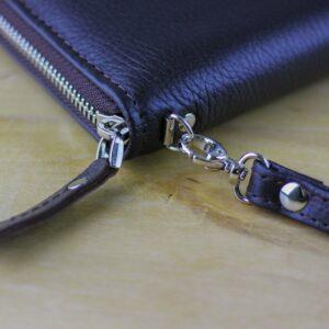 Кожаный коричневый мужской портмоне клатч BRL-28537 228569