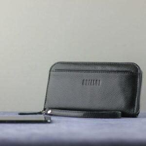 Неповторимый черный мужской портмоне клатч BRL-28616 229554