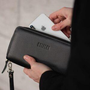 Модный черный мужской портмоне клатч BRL-43903 229083
