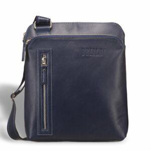 Вместительная синяя мужская сумка через плечо BRL-7561 227707
