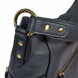 Удобная синяя женская сумка через плечо BRL-47454 229845