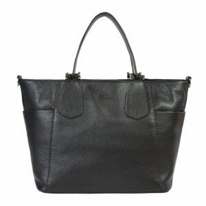 Стильная черная женская сумка через плечо BRL-47281 229774