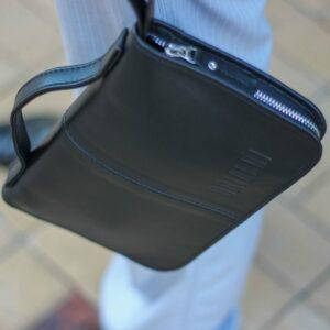 Удобный черный мужской портмоне клатч BRL-920 227513