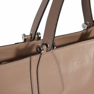 Деловая бежевая женская сумка через плечо BRL-47269 229713