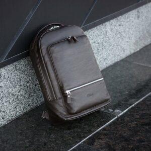 Неповторимый коричневый мужской деловой рюкзак BRL-45796 229261