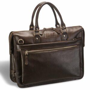 Удобная коричневая мужская классическая сумка BRL-12048