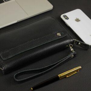 Стильный черный мужской портмоне клатч BRL-43905 229136