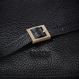 Стильная черная женская сумка через плечо BRL-47553