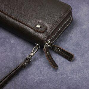 Стильный коричневый мужской портмоне клатч BRL-43904 229120