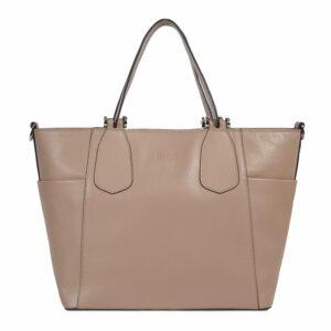 Деловая бежевая женская сумка через плечо BRL-47269 229709