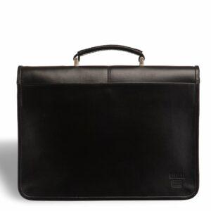 Стильный черный мужской портфель классический BRL-9536 227770