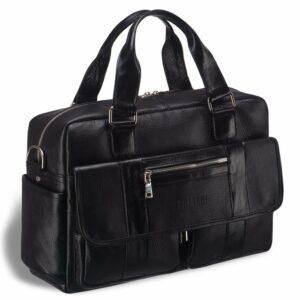 Деловой черный мужской портфель деловой BRL-15165
