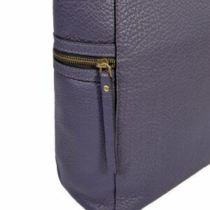 Вместительная фиолетовая женская сумка через плечо BRL-47455 229856