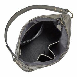 Функциональная серая женская сумка через плечо BRL-47451 229803