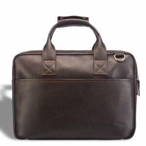 Кожаный коричневый мужской кейс для командировок BRL-12973 227936